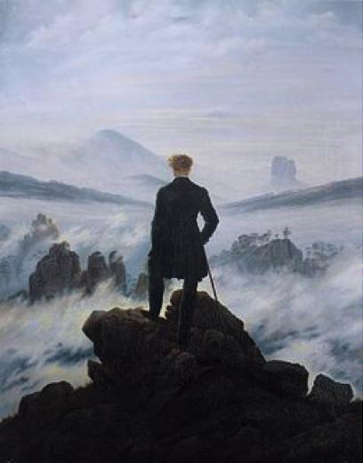 friedrich-le-voyageur-contemplant-une-mer-de-nuages-1818