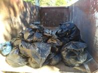 la récolte de déchets 2018.